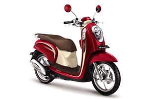 Sewa Motor Matic Honda Scoopy Murah Bali